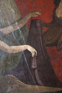 Fig. 4 Pompéi villa des Mystères mur de droite IX det phallus cl. F.P. 5160