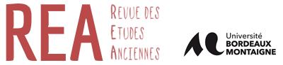 Revue des Études Anciennes